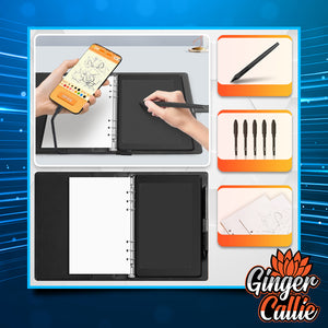 TouchSmart Digital Drawing & Writing Notebook