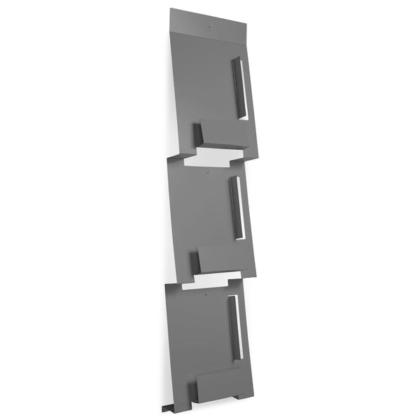 2D:3D Wall Magazine Rack