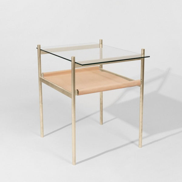 Duotone Rectangular Side Table