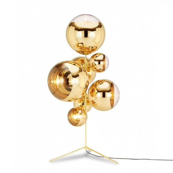 Mirror Ball Stand Chandelier