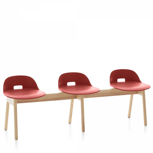 Alfi 3-Seat Bench Low Back