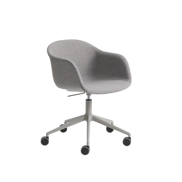 Fiber Arm Chair / Swivel Base w. Castors & Gas Lift