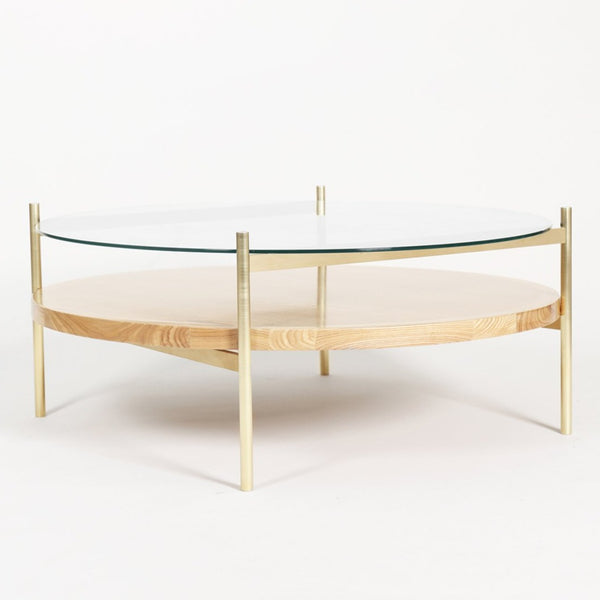 Duotone Circular Coffee Table