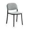 1 Inch Stacking Chair Upholstered