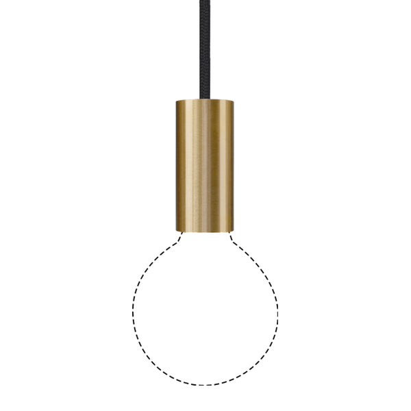 Rail (Brass) Cord Light