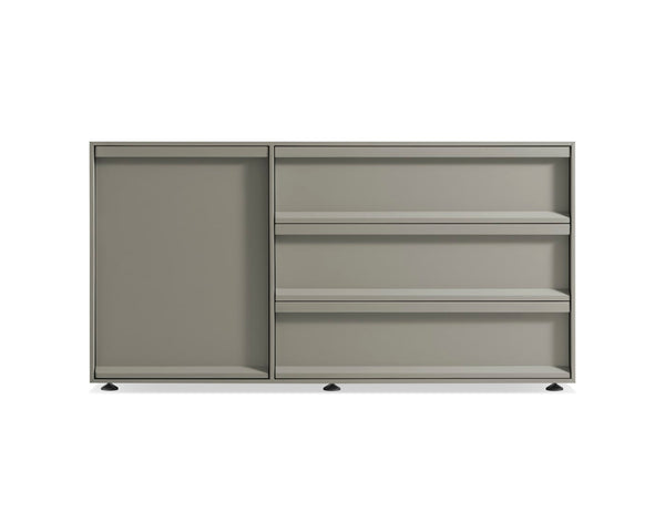 Superchoice 1 Door / 3 Drawer Credenza