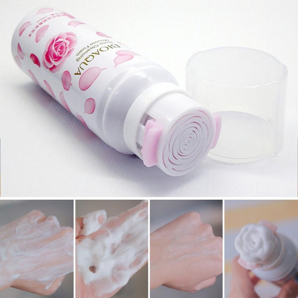 Rose Shaped Soap Facial Cleanser