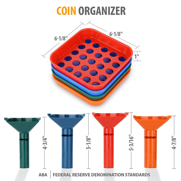 Speed Sort Coin Sorting Trays