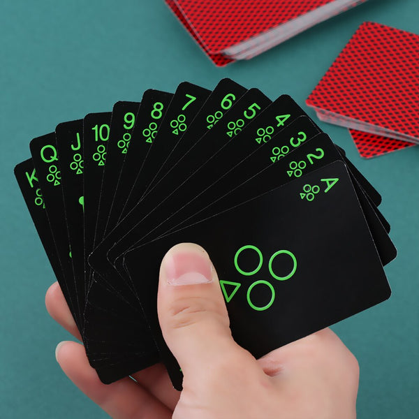 Luminous Poker Glow In The Dark Cards