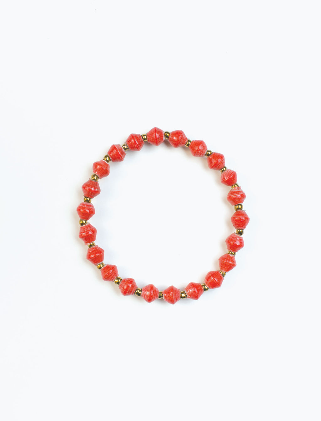 Red Stacking Bracelet