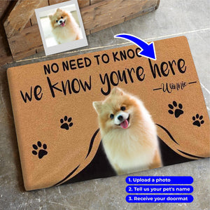 Limited Edition Custom Doormat- Up to 3 pets