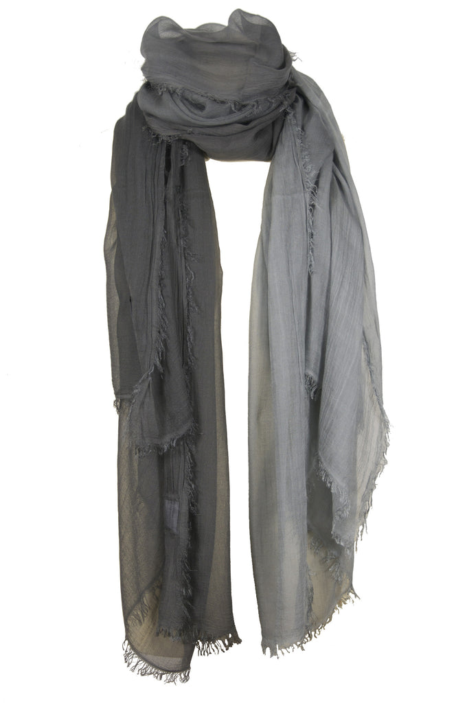 Taupe modal scarf