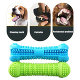 Silicone Teeth Cleaning Dog Bone Shape Chew Toy
