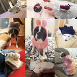 Cute Warm Cuddly Pet Dog Puppy Cotton Hoodie Coat/Jacket