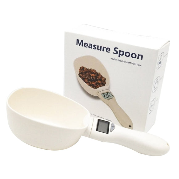 Electronic Weighing Measuring Scoop/Spoon for Pet Food & Medicine
