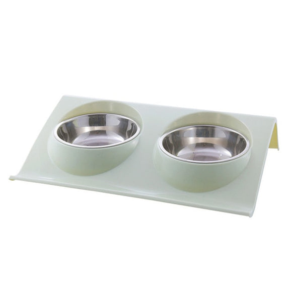 Double Stainless Steel Dog or Cat Bowls