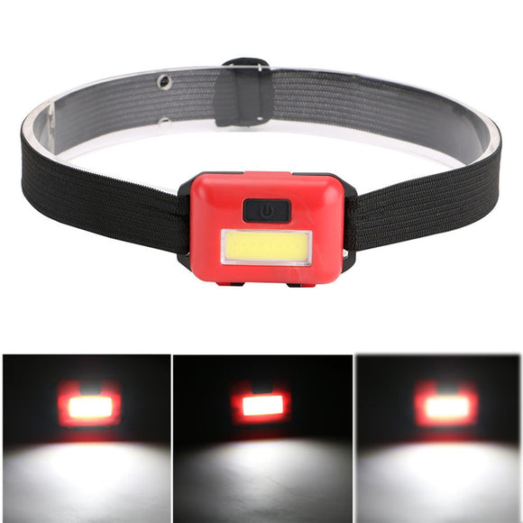 Adjustable Collar with Mini LED 3 Mode Headlamp requires 3 AAA Batteries