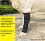 Dog Knee & Joint Leg Brace Wrap - For Healing or Injury & Sprain Prevention, Helps with Loss of Stability (S-XL)