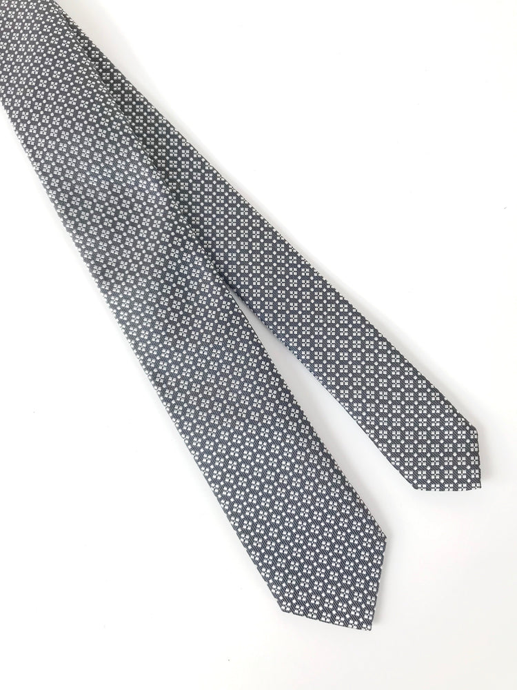 Das - Dark Grey Square Print