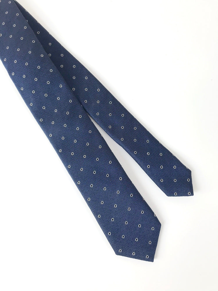 Das - Navy Dotted