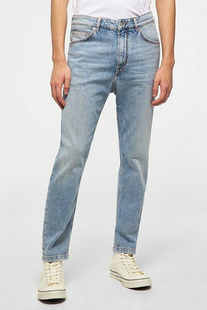 DRYKORN - Bit - LichtBlauw Relaxed Fit Jeans Drykorn
