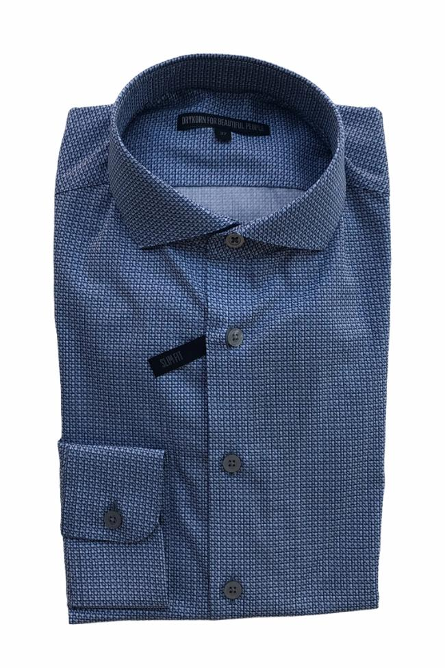 DRYKORN - Elias Shirt - Light blue b