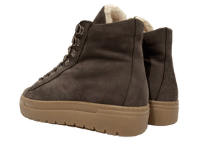 DU00 - HTM0 - Dark Brown Nubuck Sneakers Du00