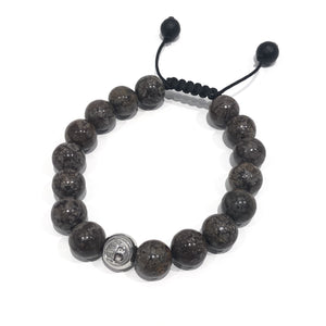 Exclusive Light Brown Logo Exclusive Icon Bracelets