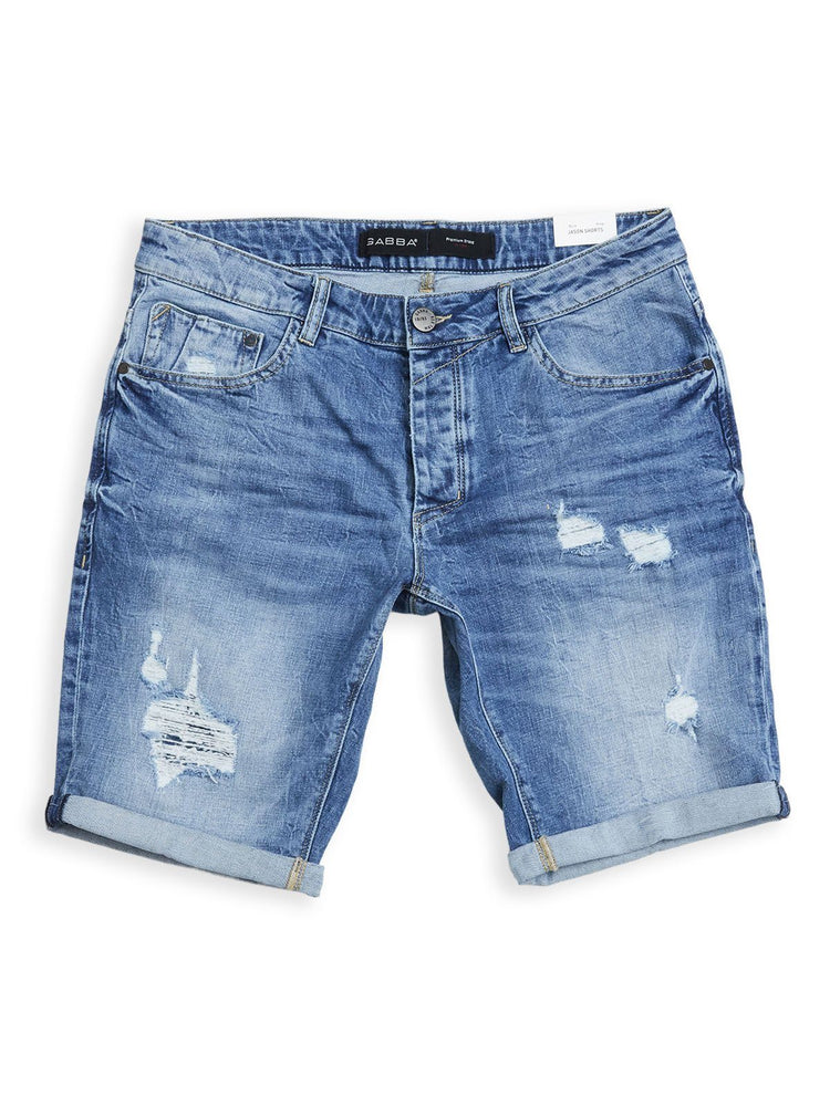 Gabba - Short Jason K1819 LT Destroy Shorts Gabba