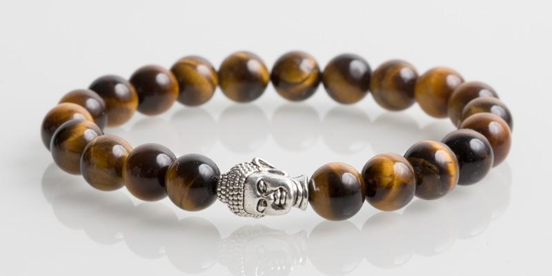 Iconbracelets Buddha Tiger Eye