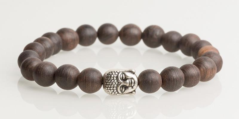 Iconbracelets Buddha Wood