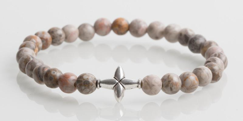 Iconbracelets Cross Fossil