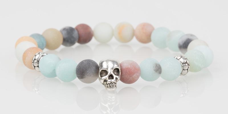 Iconbracelets Matt Amazon skull