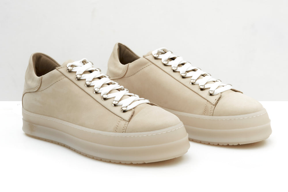 ZERO D - Icon Low Nabuck Beige