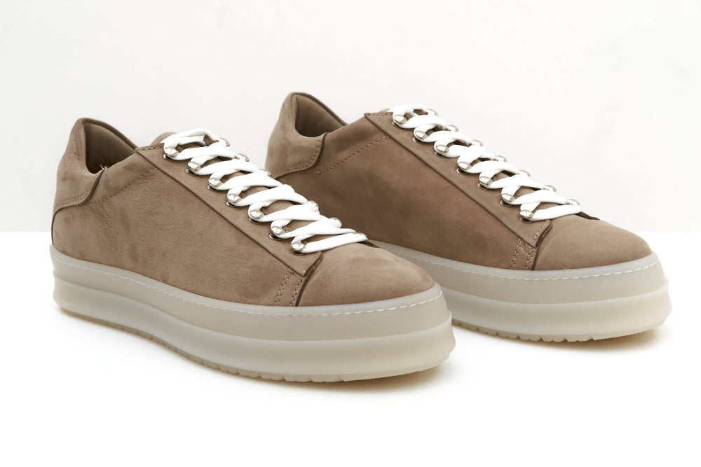 ZERO D - Icon Low Nabuck Taupe