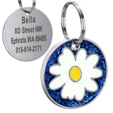 Round Custom Pet ID Tag Personalized ID Tag