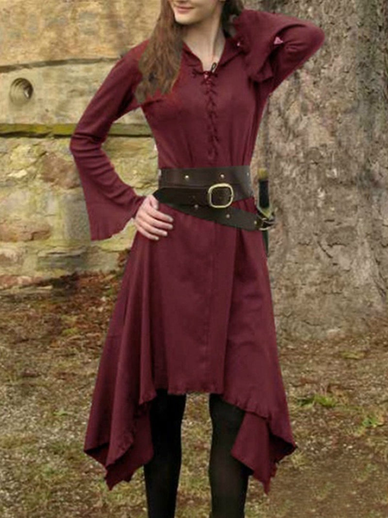 medieval Cotton Vintage Dresses
