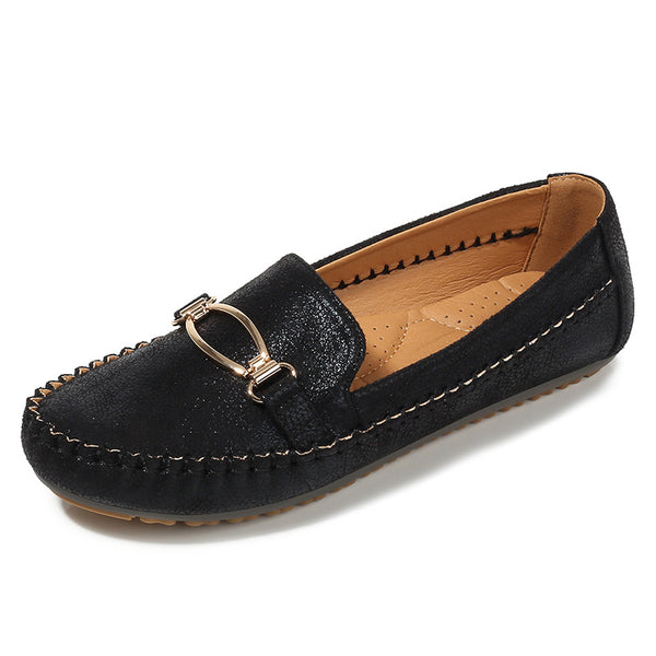 Comfort Casual Slip On Leather Loafers
