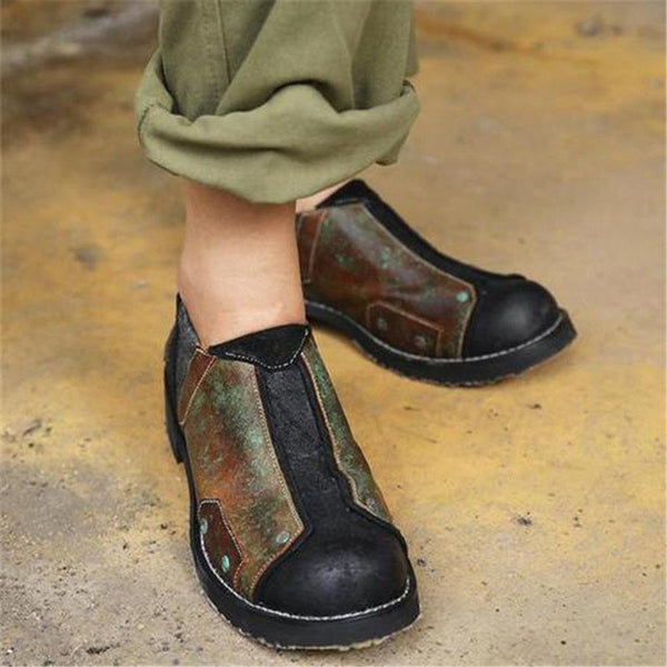 Men Vintage Slip-On Loafers