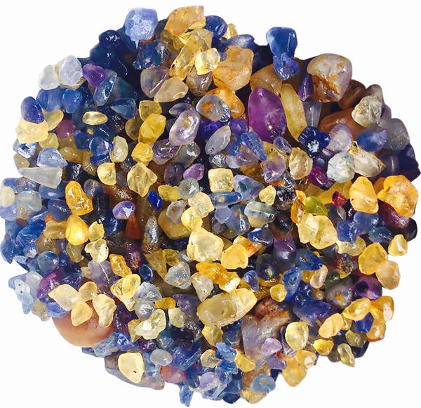 HOW DO SAPPHIRES GET THEIR COLOUR?