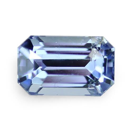1.62 ct Vivid Sky Blue Emerald Cut Natural Unheated Sapphire