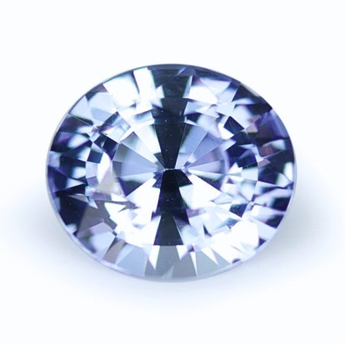 1.60 ct Light Blue Oval Cut Natural Unheated Sapphire