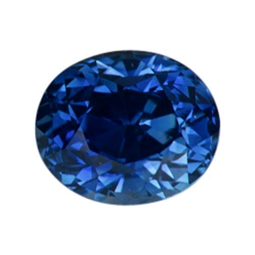 1.31 ct Royal Blue Oval Cut Natural Unheated Sapphire