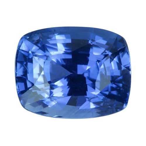 2.05 ct Cushion Cornflower Blue Ceylon	Sapphire Certified Unheated