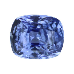 2.54 ct Vivid Medium Blue Cushion Cut Natural Unheated Sapphire