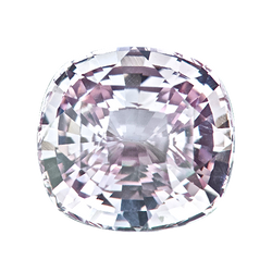 2.20 ct Cushion Light Pink Sapphire Natural Unheated