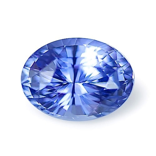 2.04 ct Blue Oval Cut Natural Unheated Sapphire