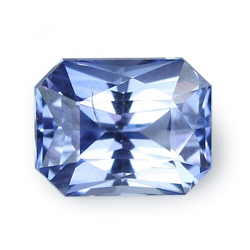 2.55 ct Blue Radiant Cut Natural Unheated Sapphire