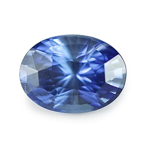 2.11 ct Blue Oval Cut Natural Unheated Sapphire