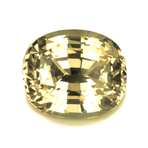 2.62 ct Yellow Natural Unheated Sapphire